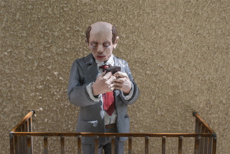 Social Isolation, Isaac Cordal, and Neighbors (Sasiedzi) in Łódź
