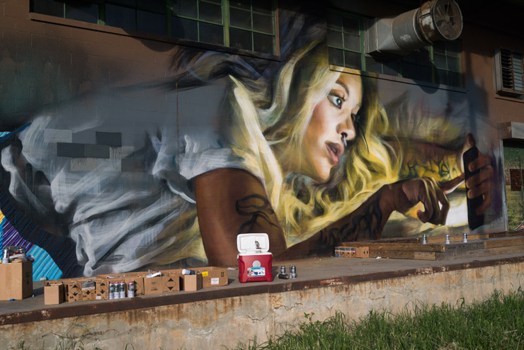 """""""AVATAR"""" of Ourselves by Karl Addison and Jarus in Atlanta"""