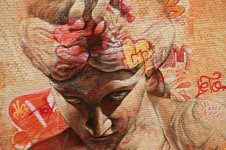 "Borås ""No Limit"" 2015: Graffiti Tags, Murals, Greco-Roman Antiquities"