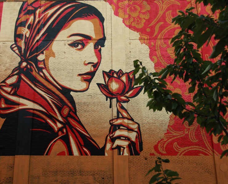 Shepard Fairey: A Steady Drumbeat Inside and Out
