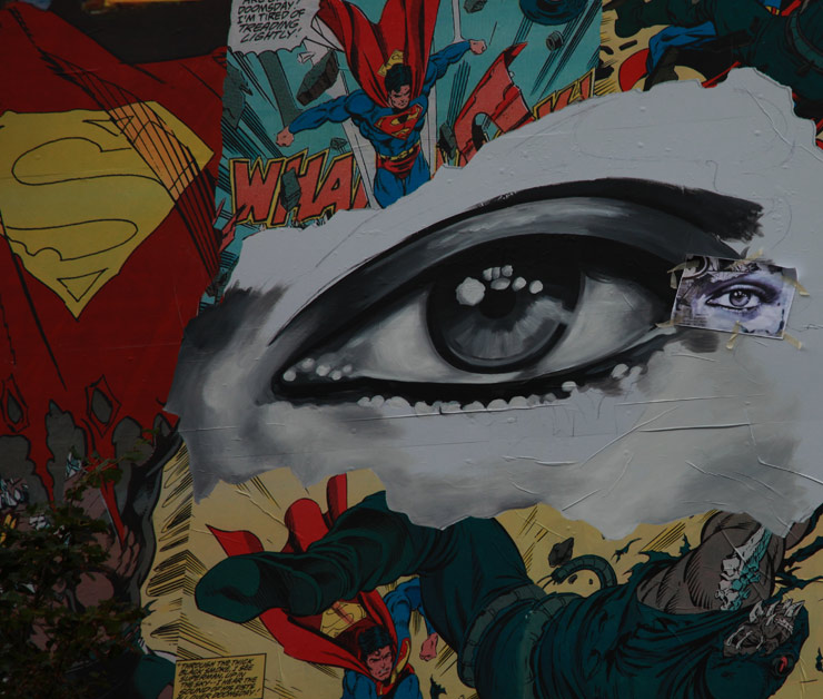 Nuart Day 3 : Picking Up Pace and Sandra Chevrier's Dramatic Eyes