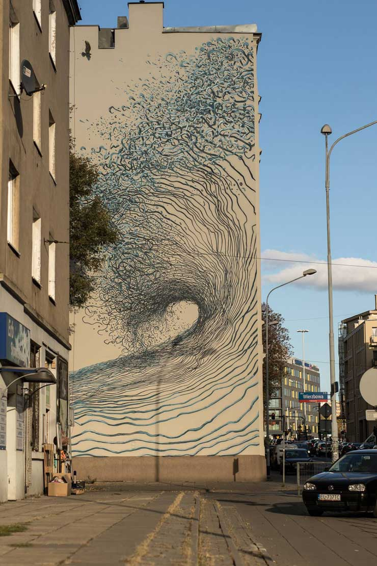 "A Tidal Wave of Lodz Reborn: ""Lodz Murals"" Distinguishes Polish City"