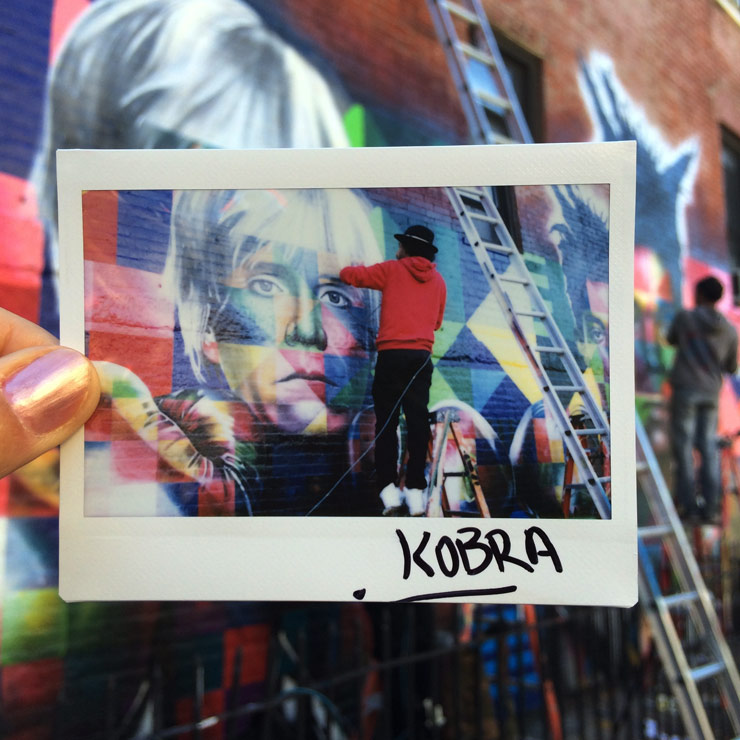 "Leanna Valente: ""Instant Art Exposure"" 1000's of Instant Photos of NYC Graff/Street Artists"