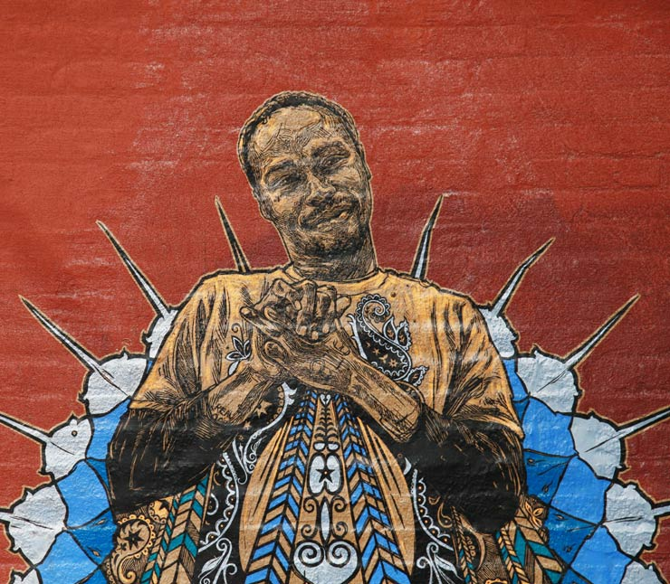 New SWOON Storytelling on Battered Brooklyn Walls