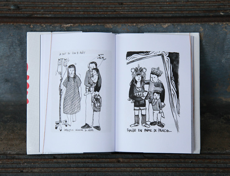 "Ella & Pitr Draw You Their Diary of World Travels in ""Baiser D'Encre"""