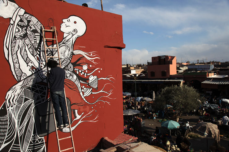 MB6 Street Art Update I – Marrakech Biennale