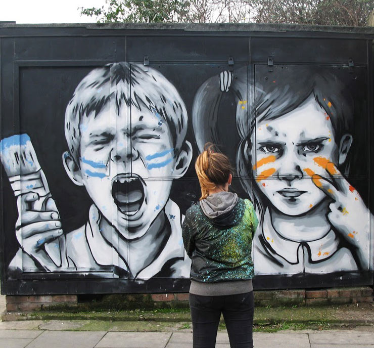 """London Walls in Conjunction with Saatchi """"XX: A Moment in Time"""""""