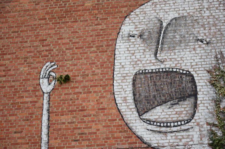 BIsser Eats His Greens in Heverlee, Belgium
