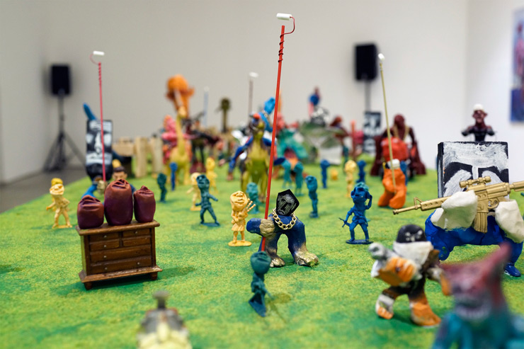 "Cane Morto ""TOYS"" Exhibition in Milan"