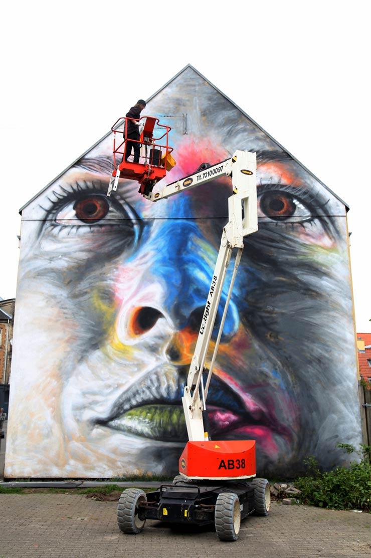"David Walker in Aalborg during Karneval, and ""Snaps"""