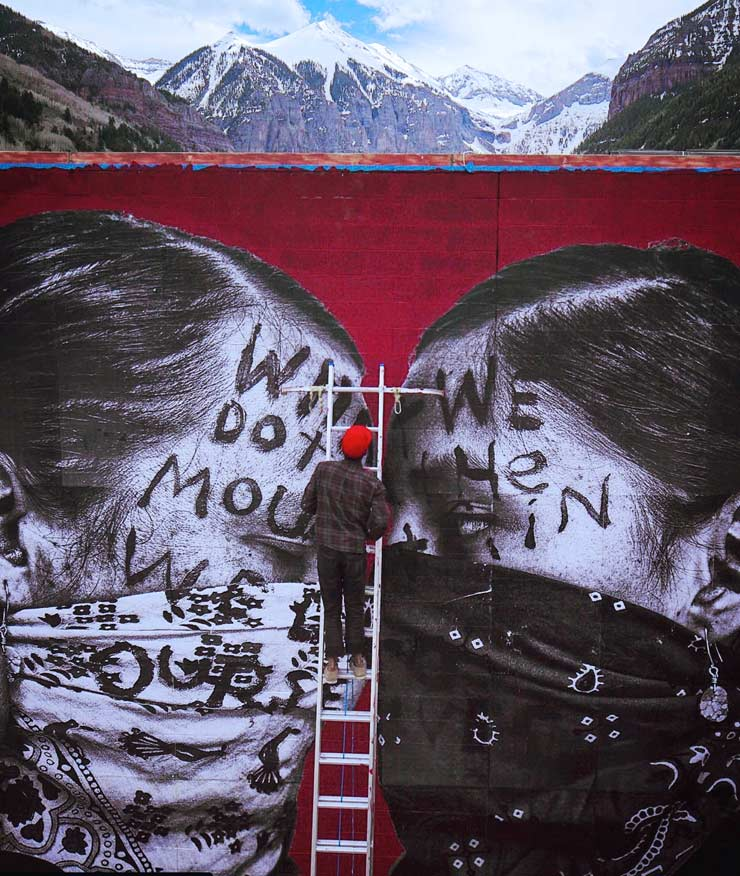 "Jetsonorama's New Piece in Telluride and ""Wastewater Snow"""
