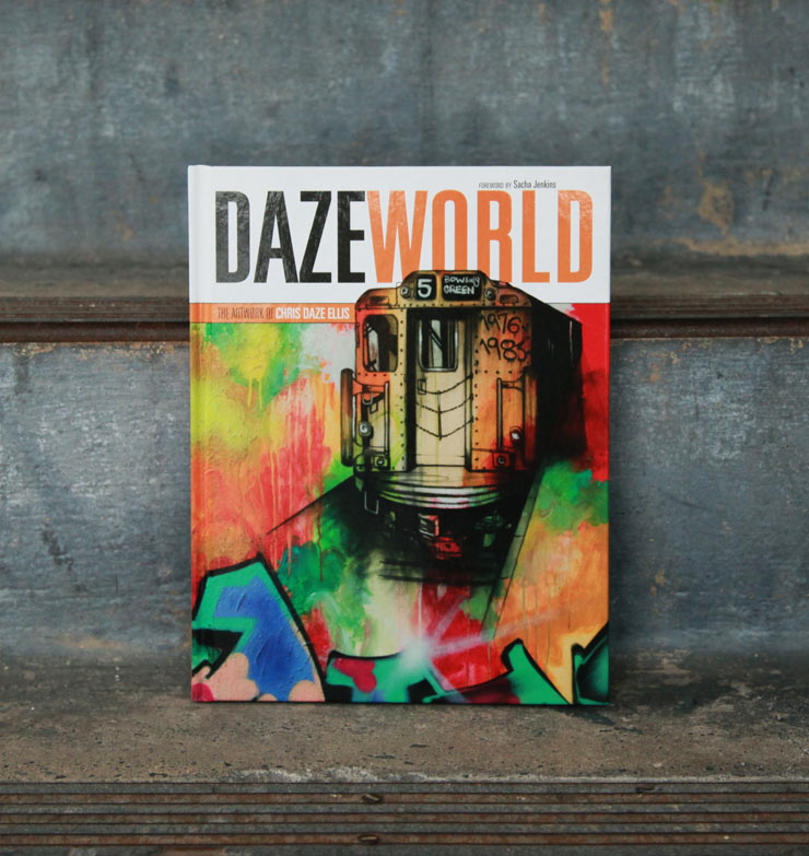 """Daze World"", the Artist and Book from City to Canvas and Back"