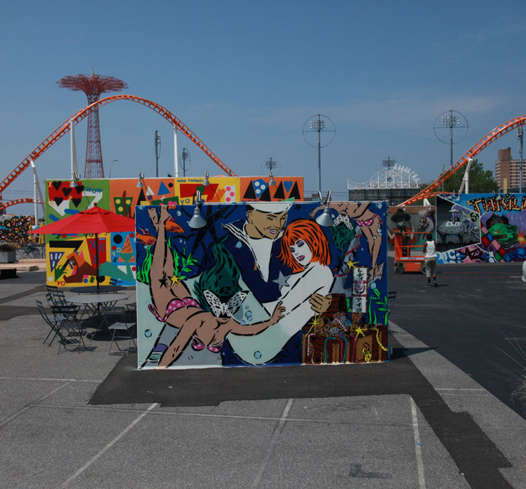 "Artists Bring 22 New Murals to ""Coney Art Walls 2016"""