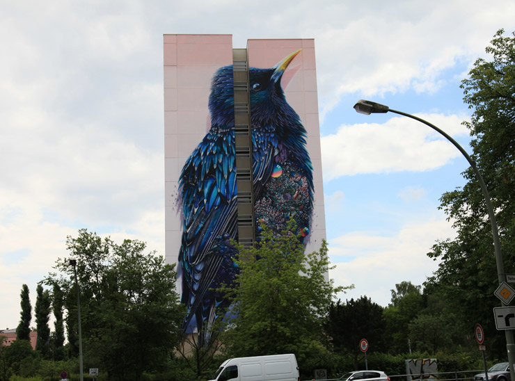 Greetings From Berlin – Soaring Walls from HowNosm, London Police Borondo, Van Der Sluijs, Super A