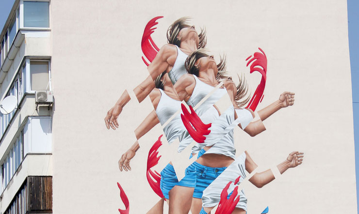"""Rise"" from James Bullough In Kiev for ""Art United Us"""