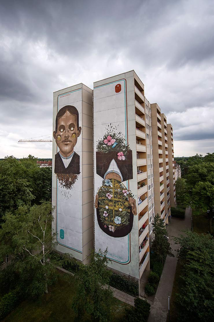 Pixel Pancho Soars into Future Past with UN One Wall Project