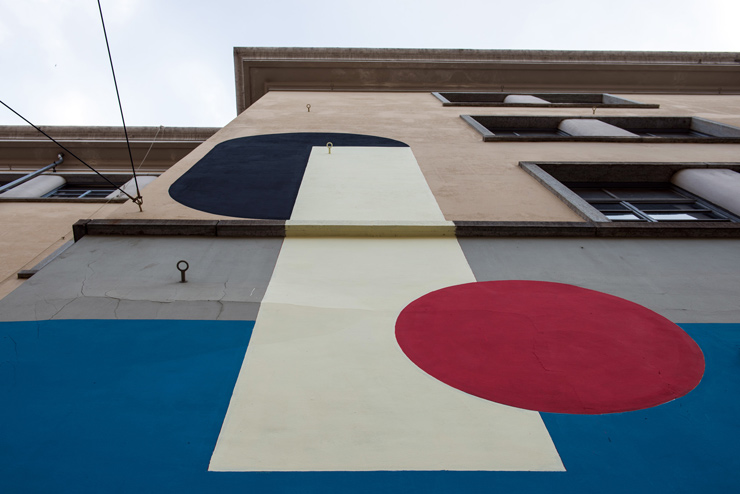 It is Now Cool to Paint A School Building in Torino.
