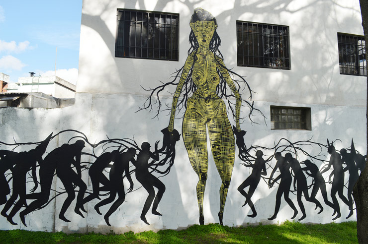 "Faring Purth and David De La Mano, ""Chrysalis"" in Montevideo"
