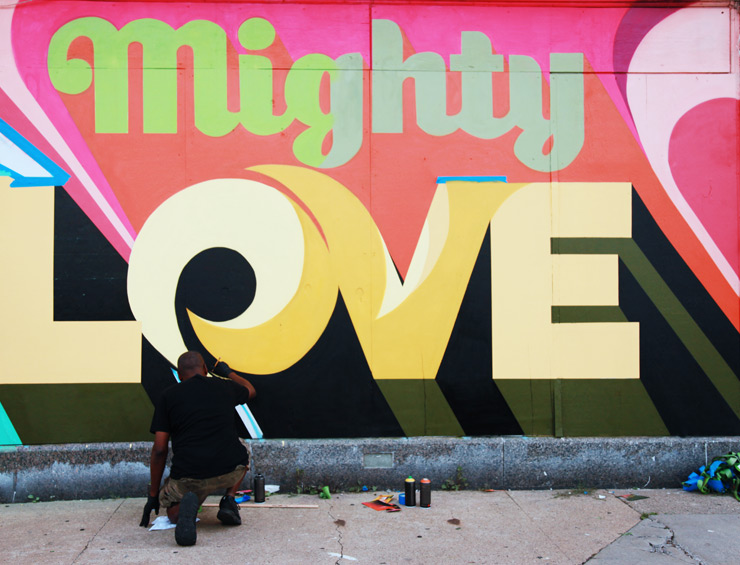 "DETROIT: Murals In The Market. Dispatch 4: The Beat of the Street and ""Mighty Love"""