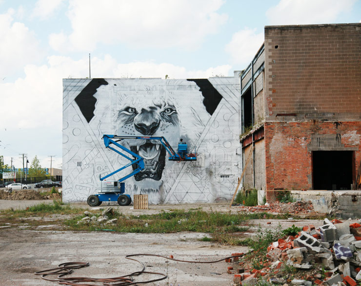 DETROIT: Murals In The Market. Dispatch 1