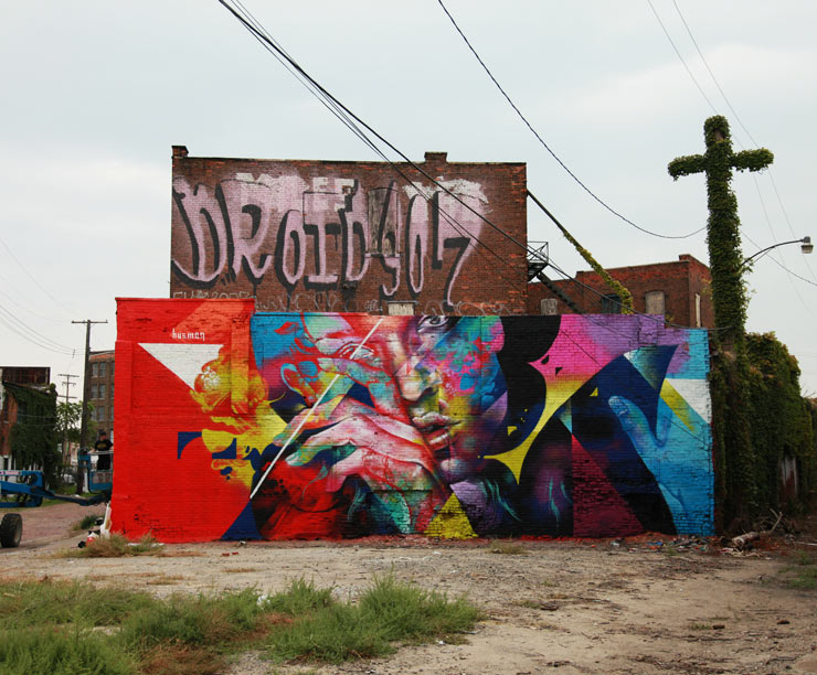 "Detroit and the Paradox of Street Art : ""Murals In The Market"" Re-Cap"