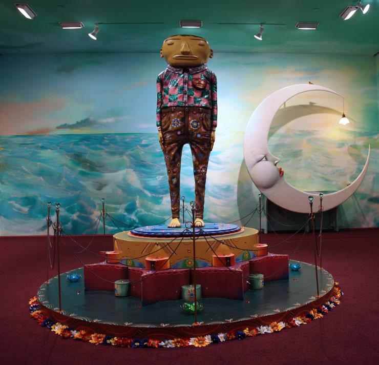 OS GEMEOS Dreams Paintings, Sculpture, Music at Lehmann Maupin