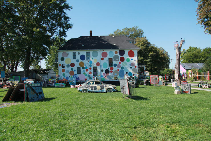 DETROIT: Murals In The Market. Dispatch 3 with Heidelberg Project, Hueman, Pixel Pancho