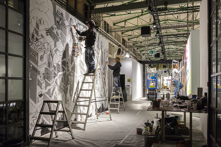 A Magic City Slowly Unfolds In Dresden : Artists Building Now