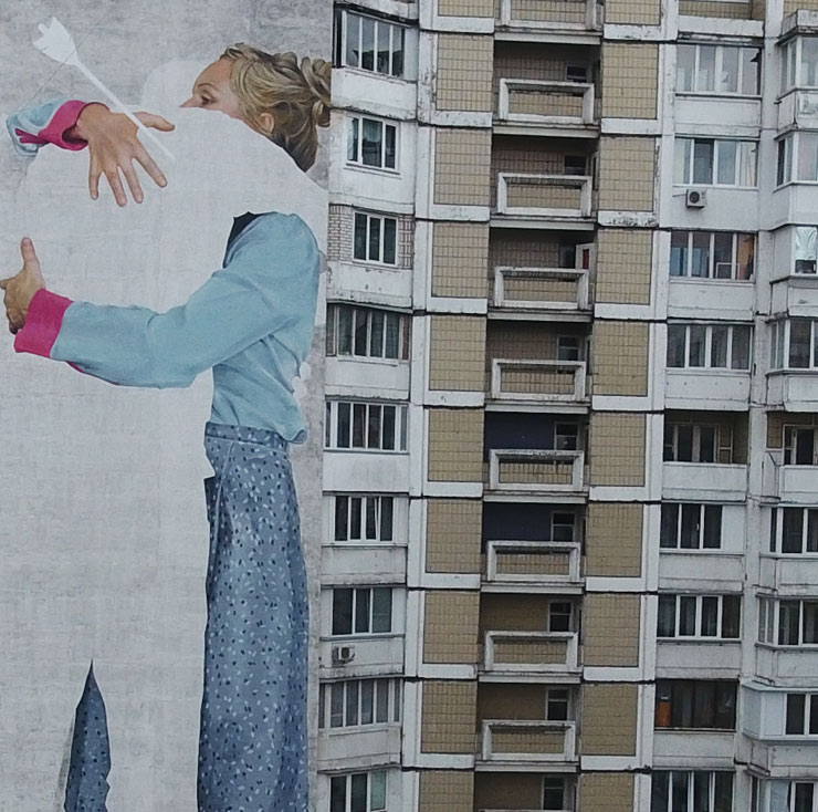"Innerfields, Dourone, Le Bonnar, Dima Fatum and Ernesto Marenje in KIEV for ""Art United Us"""