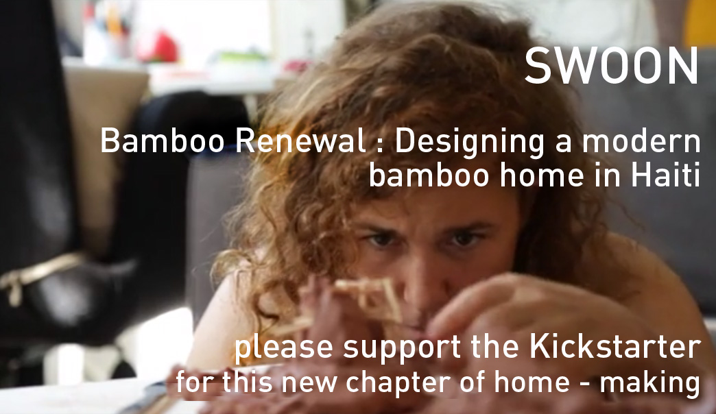Bamboo Renewal : SWOON & Team Designing New Homes in Haiti