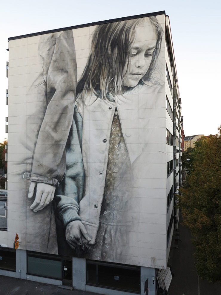 "Finland's Formidable Multi-City ""UPEA"" Mural Festival"