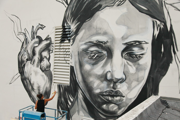 Two Miami Schools Enveloped in Murals : The RAW Project in Wynwood