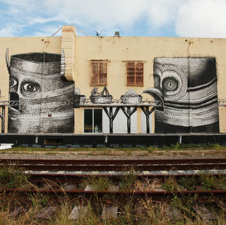 Tracking Phlegm in Wynwood, Miami.
