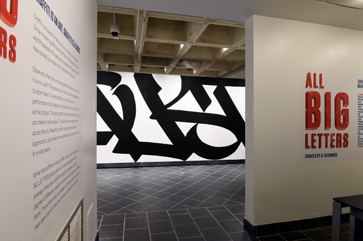 """ALL BIG LETTERS"" : Exhibition of Style, Tools, and Technique of Graffiti"
