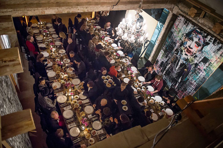 "A ""Secret Dinner"" at the Nascent UN in Berlin"