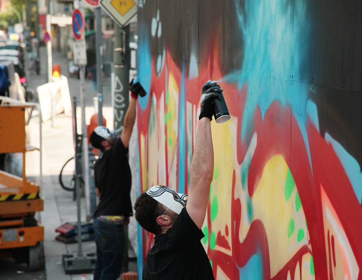 1UP Crew Hits Front of Urban Nation in Berlin
