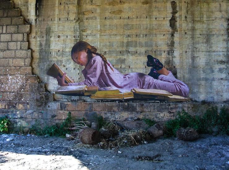 Bifido and a Secret Reading Place Under the Bridge