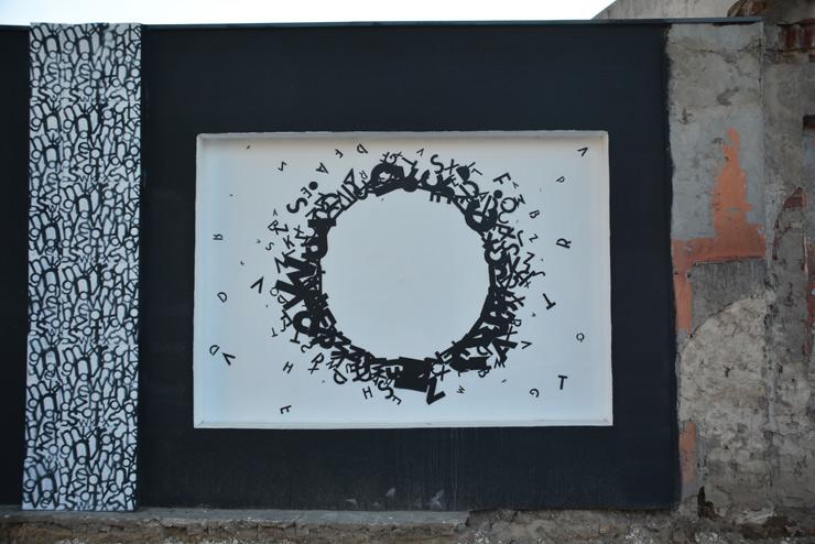 "Opiemme Paints a ""Black Hole Sun"" with Lyrics for Chris Cornell"