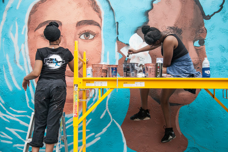 Wall Therapy 2017: An Intersection of Art, Celebration and People Power : Dispatch 2