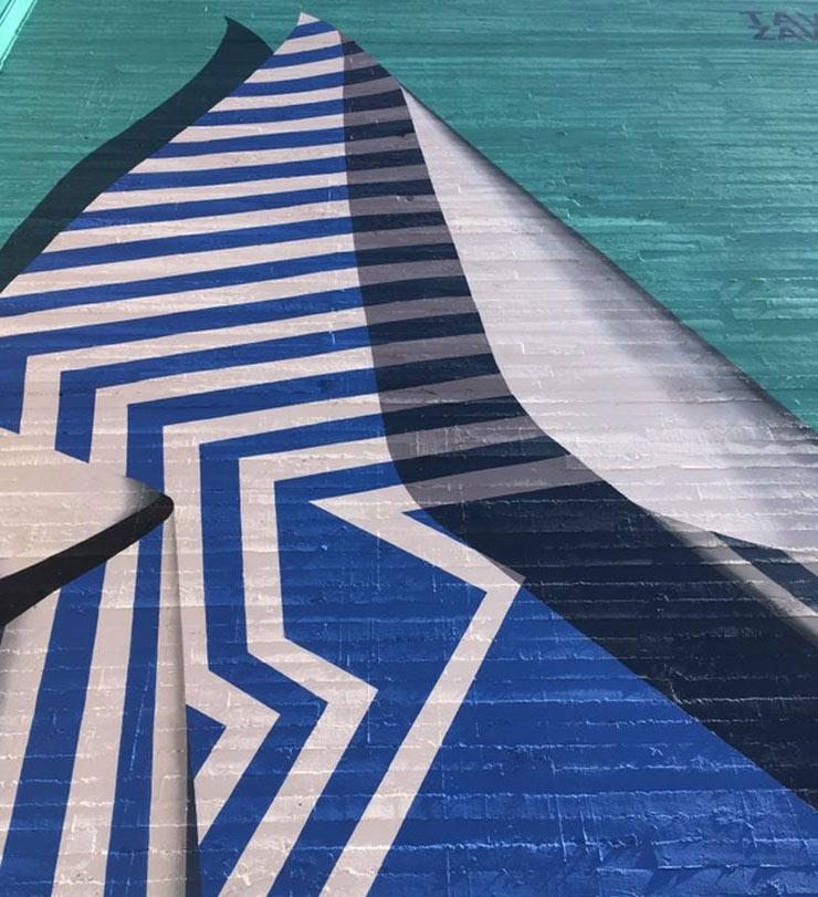 Tavar Zawacki Unveils in Sacramento with First Mural