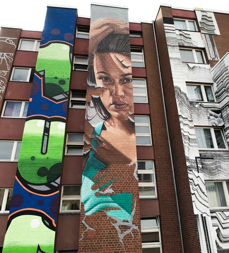 New Work in Berlin for Urban Nation (UN) Opening this Weekend : BSA Dispatch 1