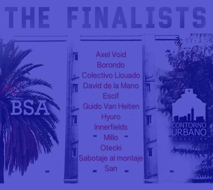 12 Finalist Artists Announced for Contorno Urbano Mural in Barcelona