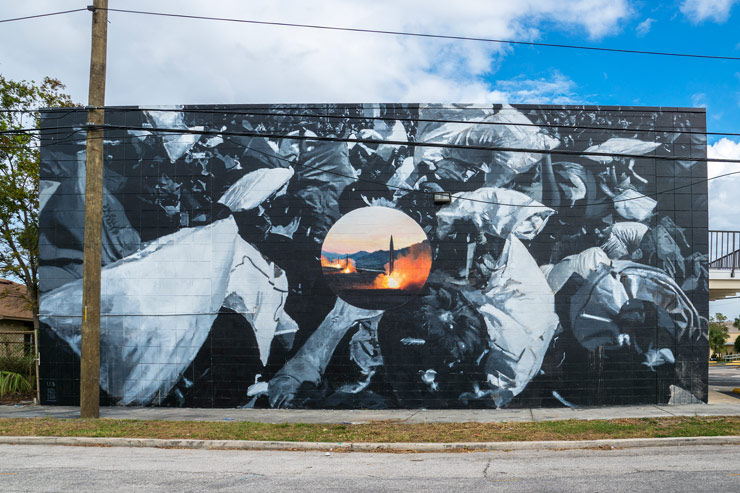 "Selections From ""SHINE"" Mural Festival in St. Petersburg, Florida."