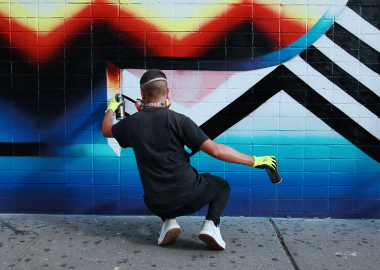 "Felipe Pantone Hits NYC Streets and GR Gallery with Solo ""Planned Iridescence"""