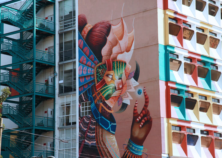 Mexico City: Aerosol Artists, Aztecs and Magic on the Street