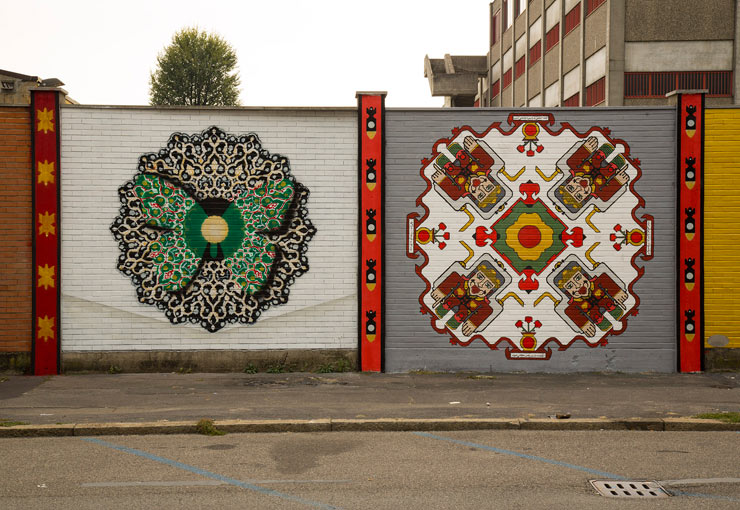 Nafir & FRZ in Milan: Mandalas to Stop War