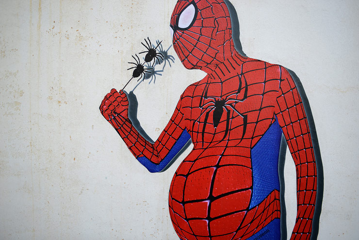 Robbbb and Spidey Question Idealized Heroes in Beijing