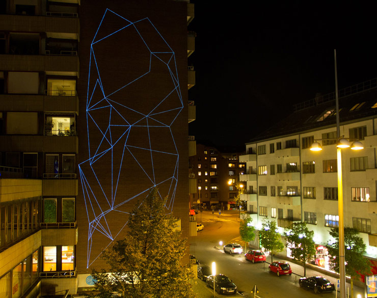 Spider Tag Casts His Glowing Web Higher in Helsingborg