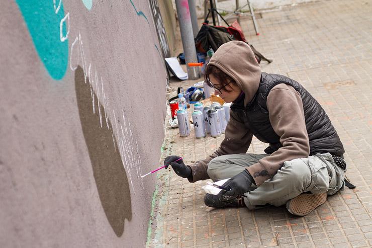Irene Valiente at Contorno Urbano 12 + 1 in Sant Feliu de Llobregat