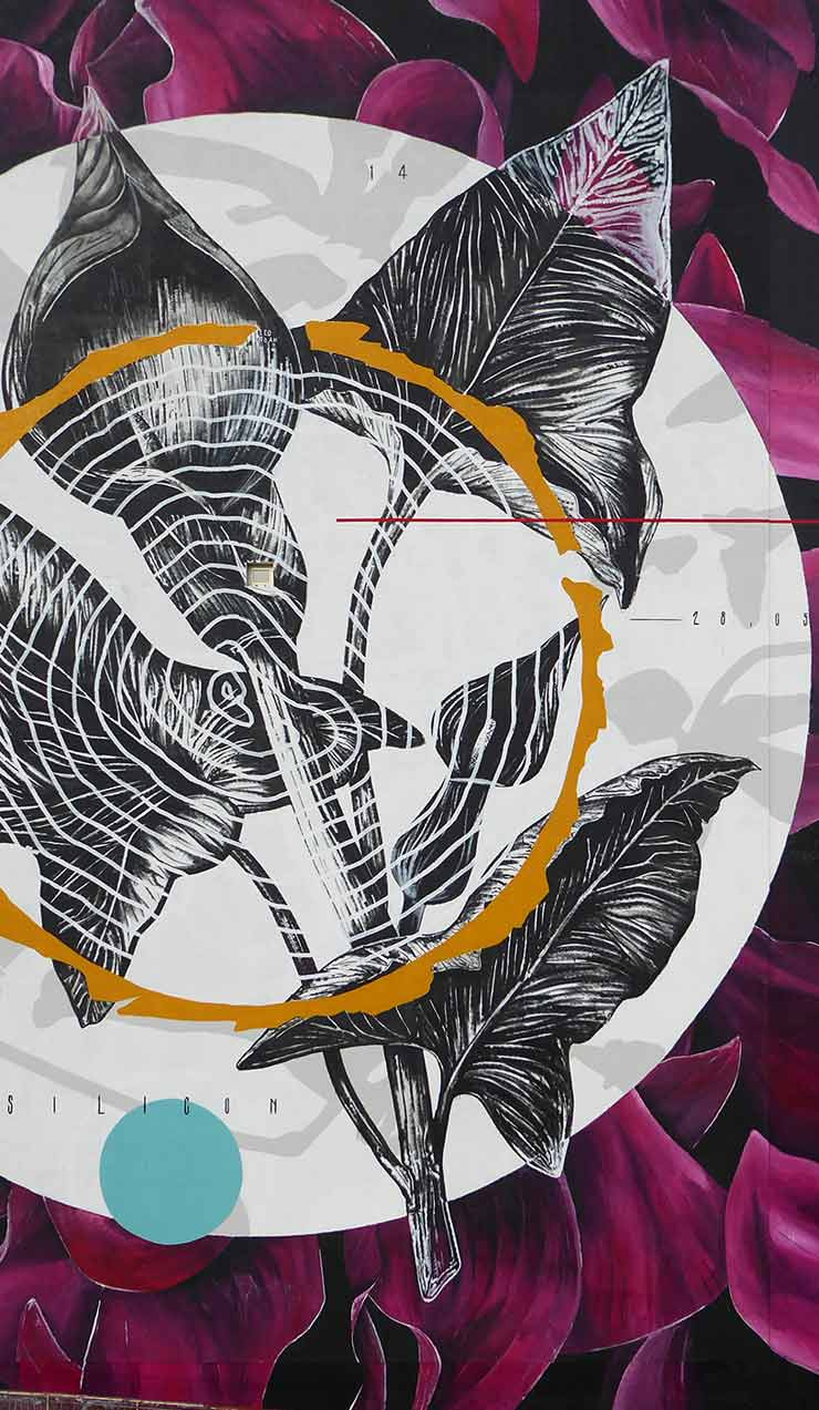 Fabio Petani Combines Art, Nature, Chemistry in Naples